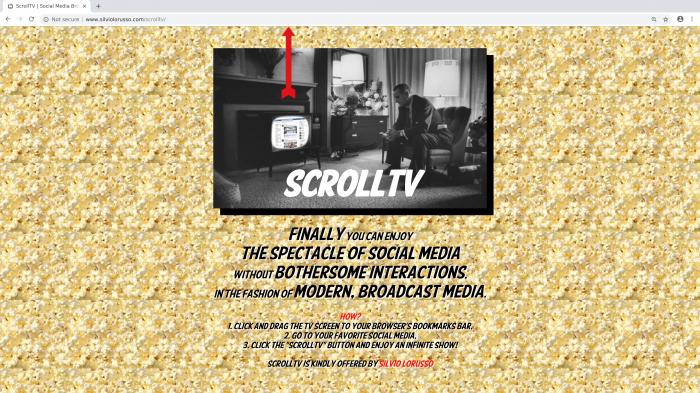 ScrollTV, Silvio Lorusso, 2012
