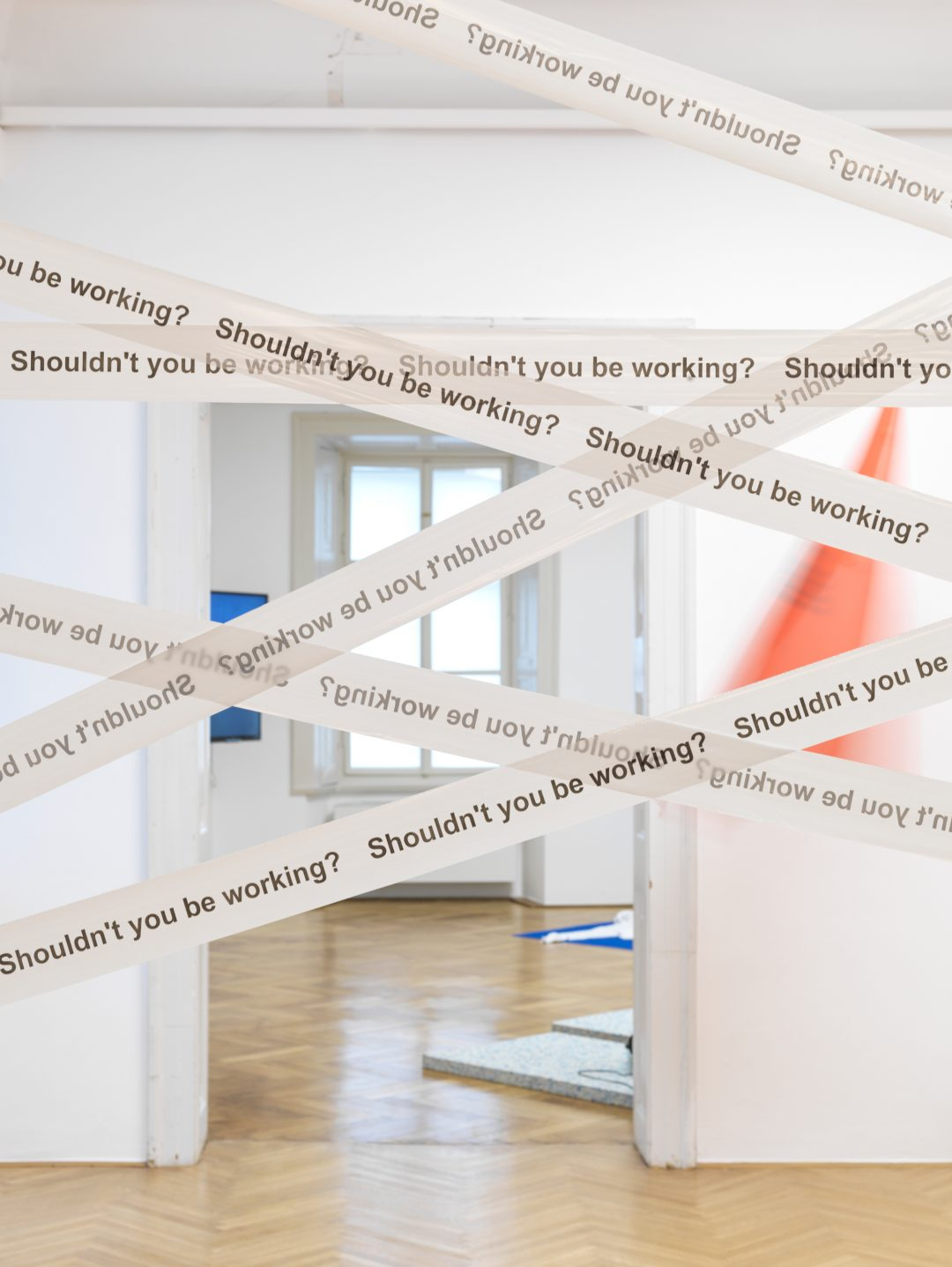 Shou;dn't You Be Working? Silvio Lorusso at Aksioma / MGLC.